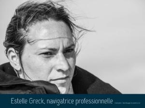 estelle  Greck navigatrice